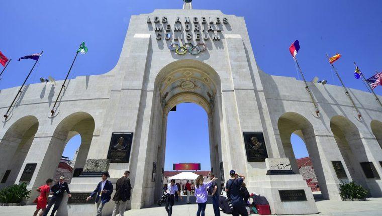 Los Ángeles será la sede de los Juegos Olímpicos de 2028. (Foto Prensa Libre: AFP)