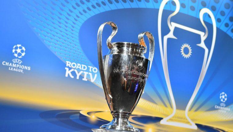 Este viernes fue el sorteo de cuartos de final de la Uefa Champions League. (Foto Prensa Libre: AFP)