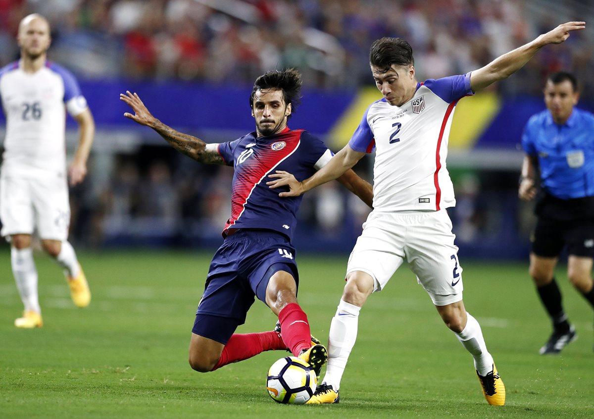 """Bryan Ruiz, mejor jugador de Costa Rica, se queda """"con las cosas positivas"""""""