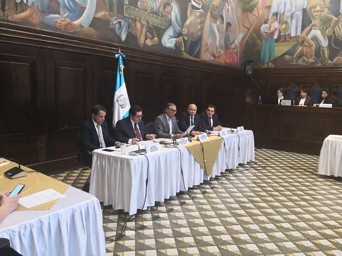 Informe de la pesquisidora por antejuicio de Morales se entregará a finales de octubre