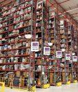 Así lucía ayer un centro de distribución de Amazon en Werne, Alemania. (Foto Prensa Libre: EFE)
