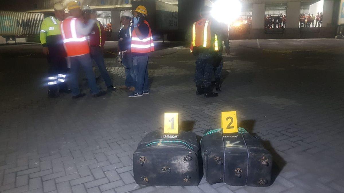 Decomisan 81 paquetes con cocaína en Puerto Quetzal, cuyo destino era Canadá
