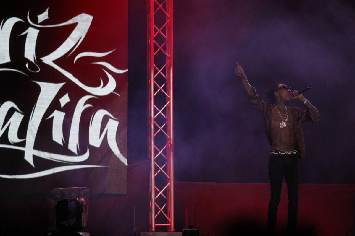El rapero Wiz Khalifa prendió el ambiente en el Festival
