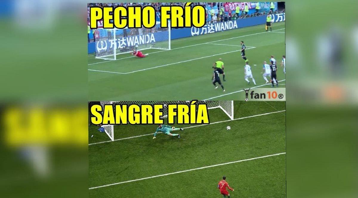 Messi falla un penalti y es el protagonista de los memes