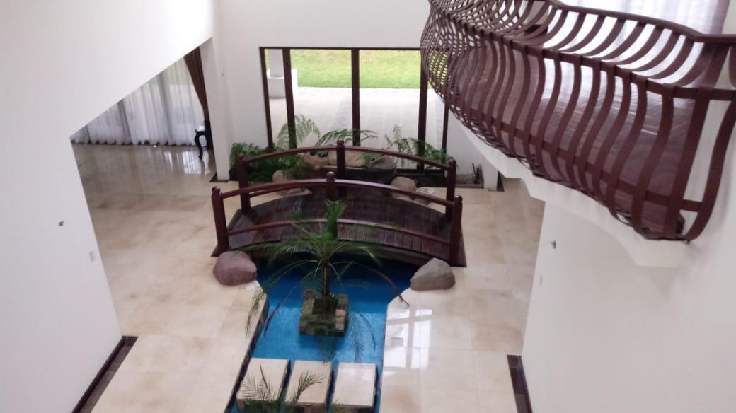 La residencia cateada por las autoridades muestra los lujos en los que vivían los narcotraficantes.(Foto Prensa Libre: MP)