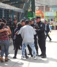 En cercanías del mercado La Parroquia, zona 6 de la capital, ocurrió el ataque armado que le causó la muerte a dos estudiantes del Instituto Adrián Zapata. (Foto HemerotecaPL: Érick Ávila)