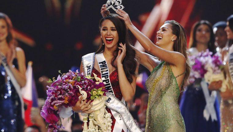 Catriona Gray, de Filipinas, es la nueva Miss Universo.