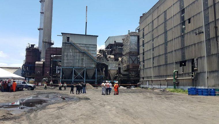 Panorámica de la mina CGN-Pronico, en el Estor, Izabal. (Foto Prensa Libre: Dony Stewart)