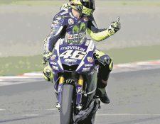 Valentino Rossi tiene grandes posibilidades de volver a subir al podio en el GP de España. (Foto Prensa Libre: AP).