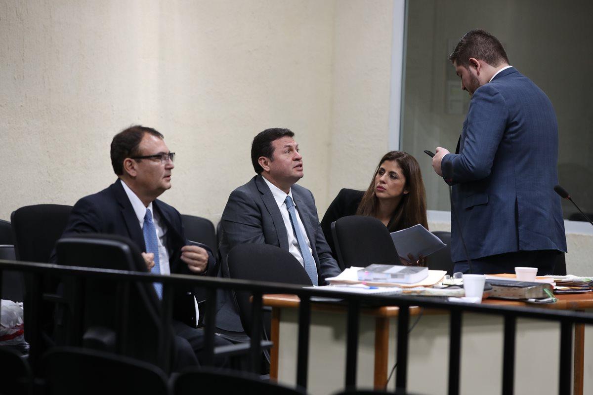 El magistrado Eddy Orellana, el abogado Sergio Roberto López Villatoro, el Rey del Tenis, y su hermana Clara Guadalupe López Villatoro ya fueron enviados a juicio. (Foto Prensa Libre: Hemeroteca PL).