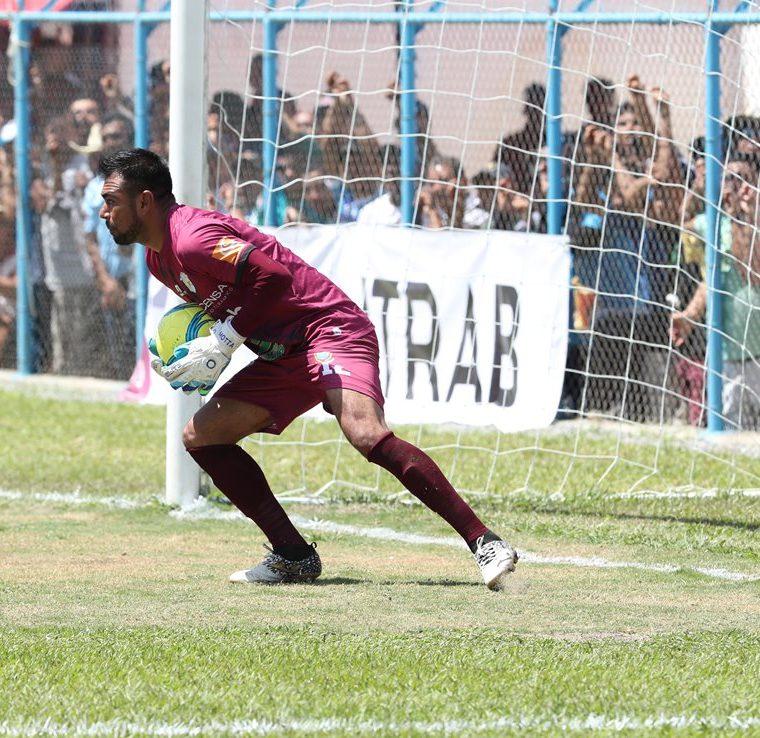Motta es uno de los porteros menos vencidos del Clausura 2018. (Foto Prensa Libre: Francisco Sánchez)