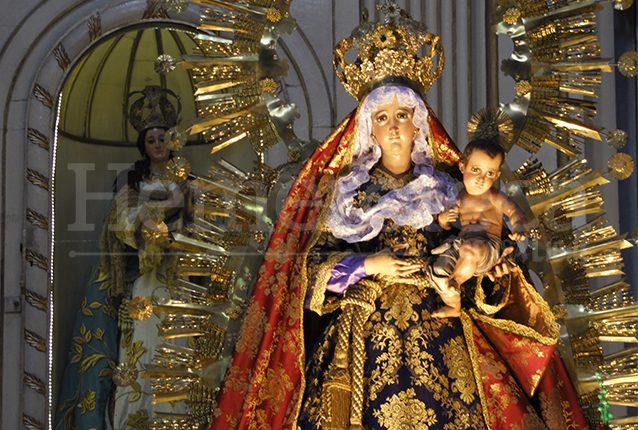 La imagen de la Virgen data de mediados del siglo XVI. (Foto: Néstor Galicia)