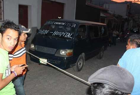 Escena del  crimen  contra José Leonardo Cerín Pinituj, quien murió baleado  la última semana de abril, en la colonia Lone,  zona 3 de la ciudad de Chiquimula.