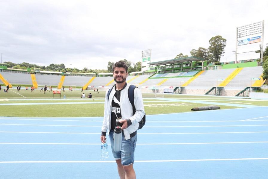 Maximiliano Lombardi ha sido pieza clave para Comunicaciones. Después de seis partidos de ausencia está de regreso. (Foto Prensa Libre: Francisco Sánchez)