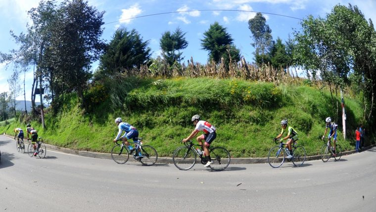 Hoy se disputa la octava etapa de la Vuelta a Guatemala. (Foto Prensa Libre: Francisco Sánchez)