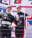César Campanico y Andrés Saravia alcanzaron el segundo puesto del International GT Open. (Foto Prensa Libre: Cortesía Gabriel López)
