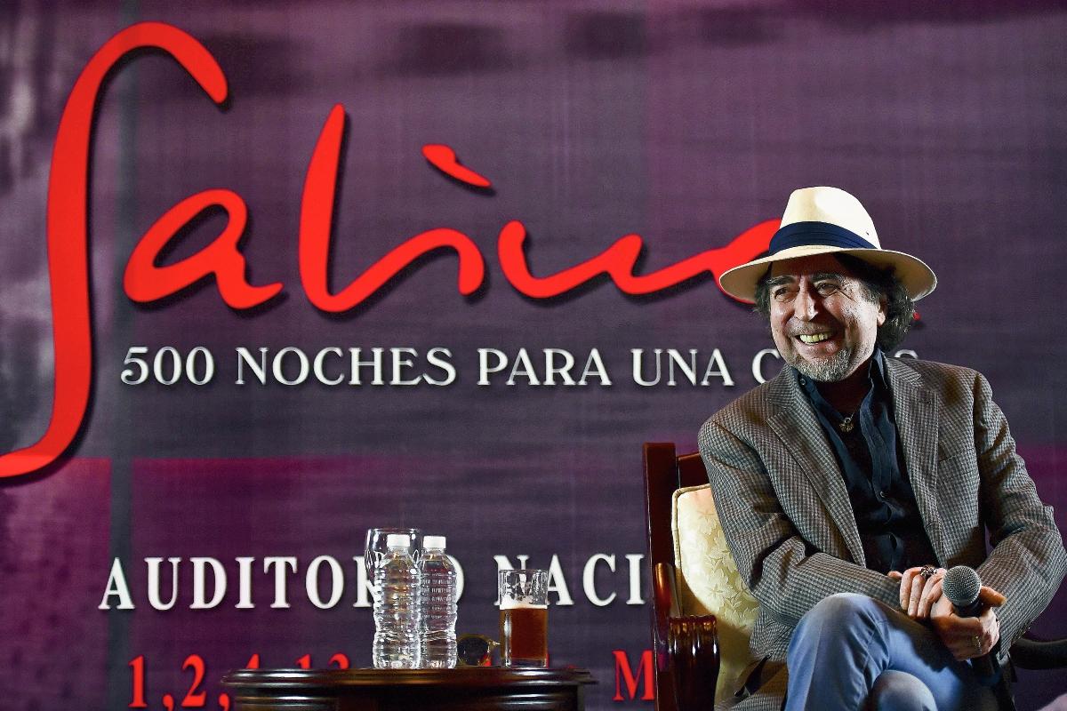 Joaquín Sabina llegó a México para dar un concierto. (Foto Prensa Libre: AP)
