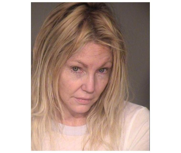 Heather Locklear fue detenida en su hogar (Foto Prensa Libre: Ventura County Sheriff's Dept.)