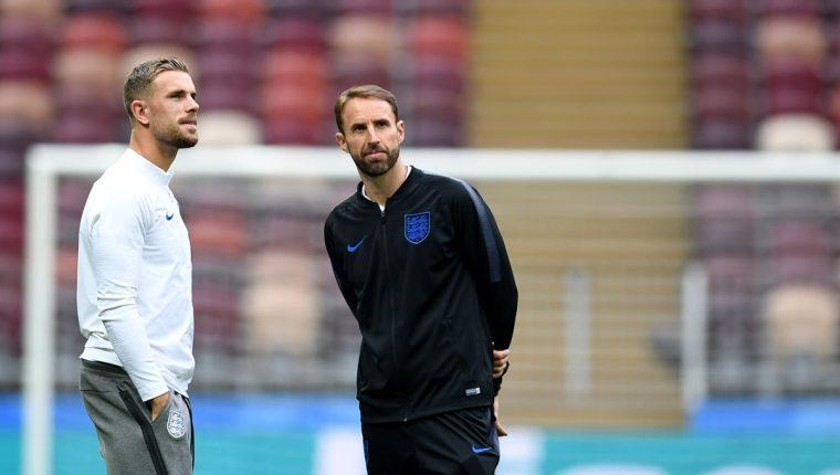 A base de disciplina Inglaterra ha llegado a las semifinales de Rusia 2018. (Foto Prensa Libre: AFP)