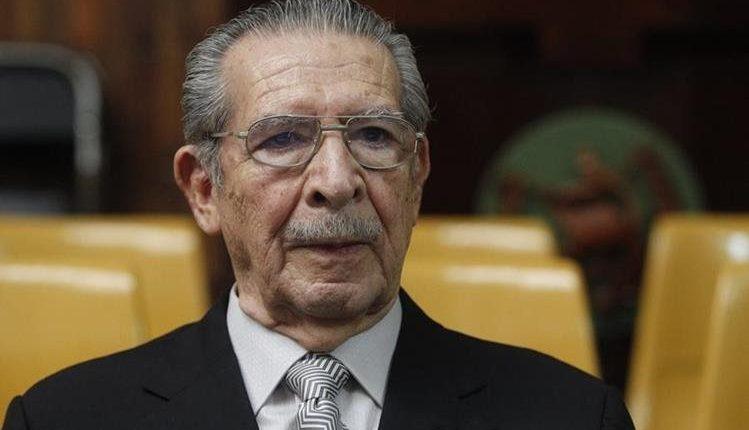 Efraín Ríos Montt tiene 91 años. (Foto Prensa Libre: Hemeroteca)