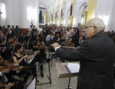 La Sociedad Filarmónica de Guatemala agrupa a decenas de músicos y tiene 203 años de existencia. (Foto: Hemeroteca PL)