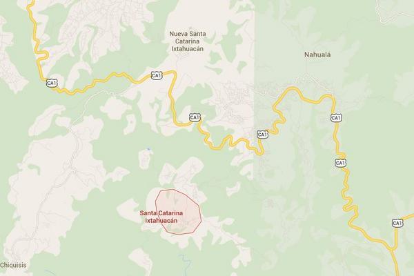 Santa Catarina Ixtahuacán, Sololá. (Imagen: Google Maps)