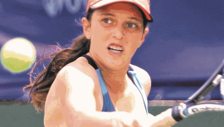 Gabriela Rivera participará en el torneo Junior de Roland Garros. (Foto Prensa Libre: Hemeroteca PL)