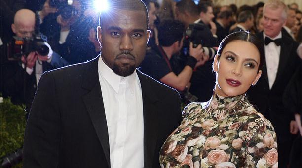 Kim Kardashian y su esposo el rapero Kanye West forman parte de la lista de las 10 celebridades afectadas por el incendio Woosley Fire.