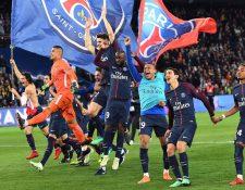 El PSG goleó 7-1 al Mónaco y ganó la Liga 1 por séptima ocasión en su historia. (Foto Prensa Libre: AFP).