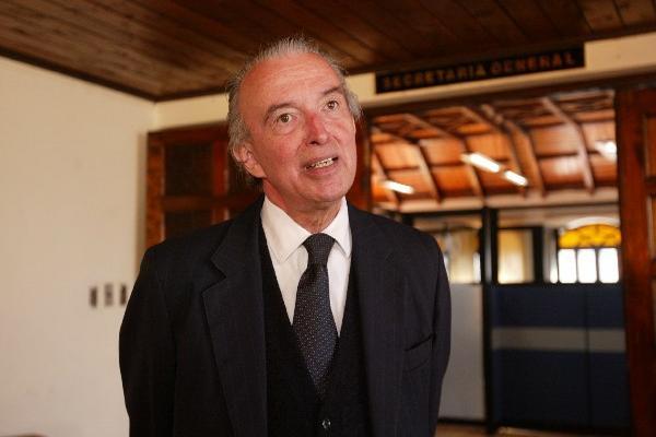 Exministro de Relaciones Exteriores, Gabriel Orellana. (Foto Prensa Libre: Hemeroteca PL)