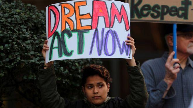 """Se calcula que hay unos 800.000 """"soñadores"""" en EE.UU. REUTERS"""