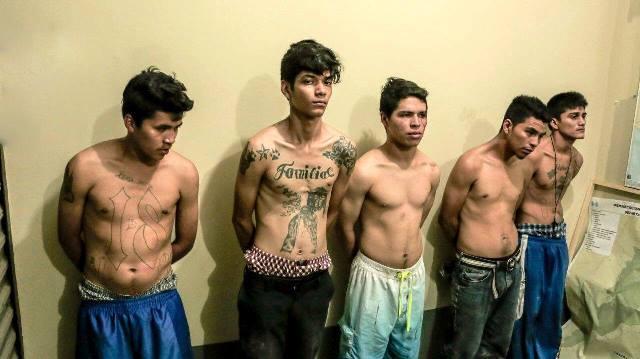 Cinco señalados de intentar atacar a la Policía Nacional Civil fueron capturados. (Foto Prensa Libre: Hemeroteca PL)