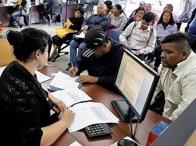 Resultado del censo de empleados públicos se darán a conocer en noviembre