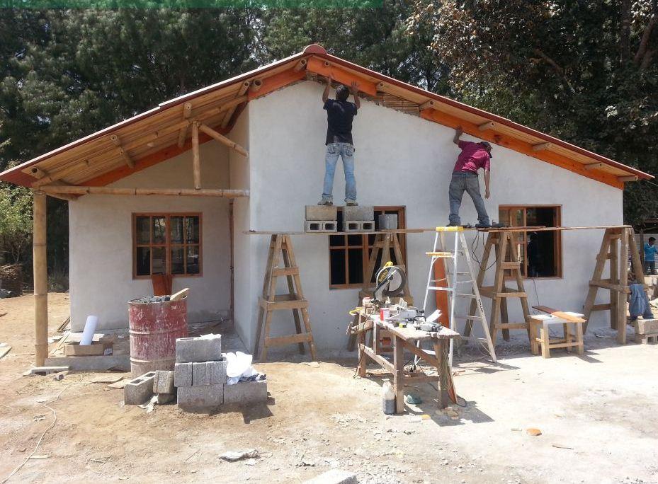 Una casa auto eficiente es un modelo creado por el guatemalteco, Manuel Antonio Aguilar y que fue nominado. (Foto Prensa Libre: Latinalista.com)