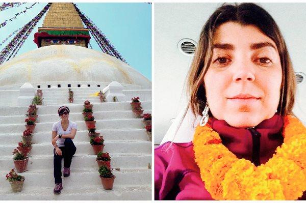 Las montañistas Padilla y Cardona ya están en Katmandú