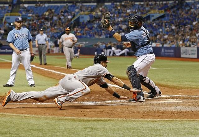 Los Orioles no pudieron y se quedaron con la derrota 7-6 (Foto Prensa Libre: AFP)