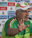 Ricardo Ferretti, seleccionador interino de la Selección de México anunció hoy a los convocados para enfrentar a EEUU. (Foto Prensa Libre: AP)