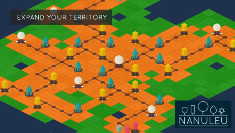 Nanuleu es un videojuego minimalista de estrategia (Foto Prensa Libre: Selva Interactive).