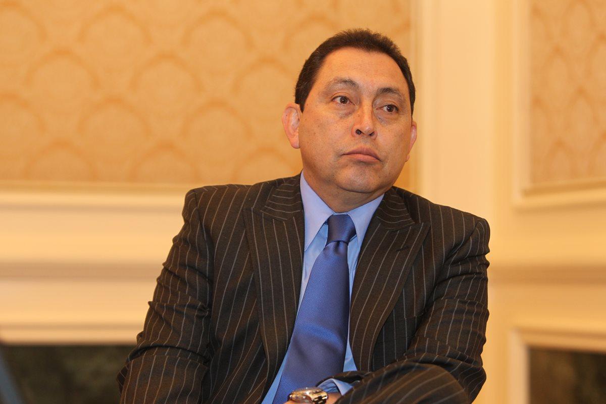 Exministro de Gobernación, Mauricio López Bonilla. (Foto Prensa Libre: HemerotecaPL)