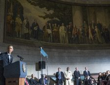 "<span class=""hps"">El presidente estadounidense, Barack Obama,</span> <span class=""hps"">habla durante la</span> <span class=""hps"">ceremonia de naturalización</span><span class=""hps"">.</span>"