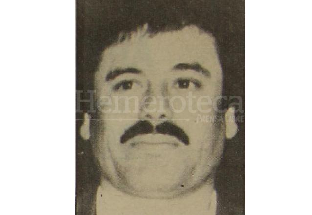 """El narcotraficante Joaquín """"el Chapo"""" Guzmán, en una fotografía de junio de 1993. (Foto: Hemeroteca PL)"""