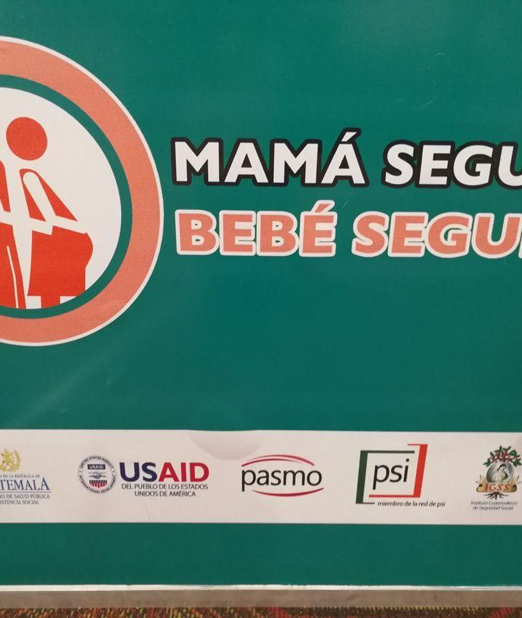 La campaña Mamá segura, bebé seguro comenzará a difundirse en los próximos días en Guatemala, El Salvador, Honduras y República Dominicana. (Foto Prensa Libre: Ana Lucía Ola)