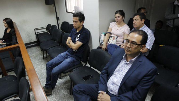 Sala rechazó solicitud de cambio de delito para Samuel Morales y Mario Orellana. (Foto Prensa Libre: Paulo Raquec)