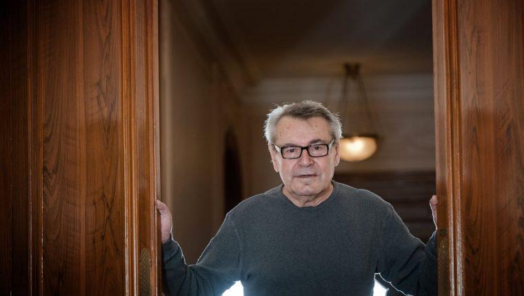 El director de cine Milos Forman murió a los 86 años tras una breve enfermedad. (Foto Prensa Libre: AFP)