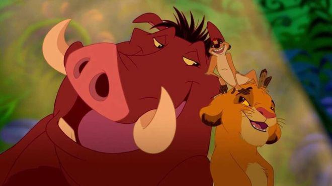 """""""El rey león"""" hizo mundialmente famosa la frase """"hakuna matata"""", que en swahili significa """"no hay problema"""". (DISNEY STUDIOS LA/YOUTUBE)"""