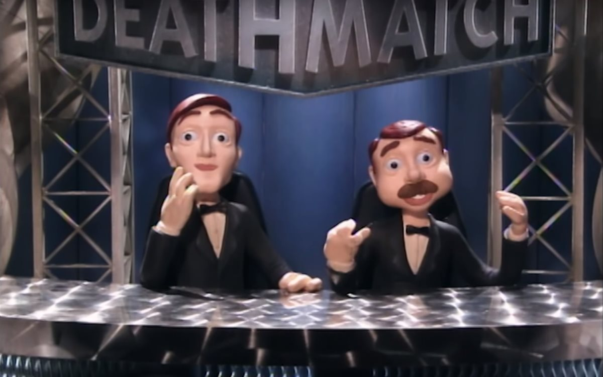 Los presentadores Johnny Gómez y Nick Diamond son los personajes principales de la serie. (Foto Prensa Libre: YouTube)