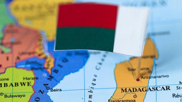 Madagascar se encuentra en el la costa sureste de África, frente a Mozambique. GETTY IMAGES