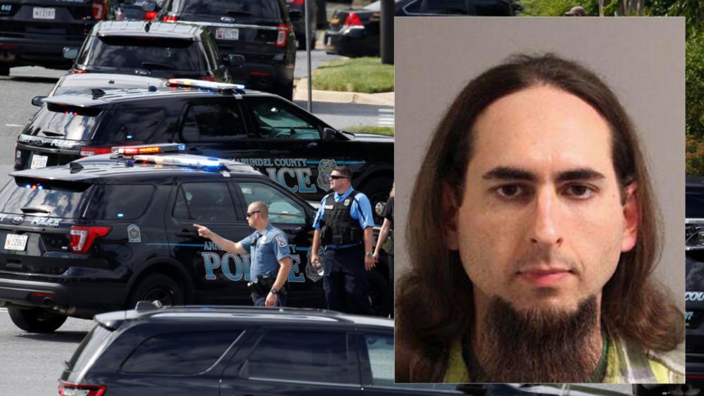 Jarrod Ramos enfrenta a cinco cargos de asesinato por la balacera perpetrado el jueves último en un diario local de Maryland, EE.UU.(AFP)