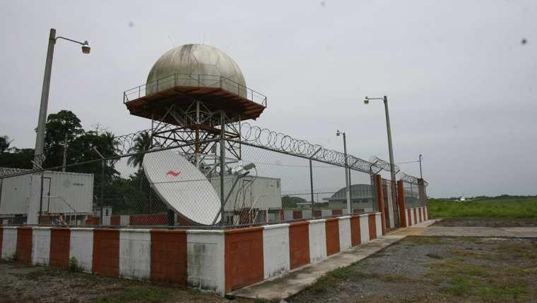 El radar de Escuintla se encuentra en fase de pruebas. (Foto Prensa Libre: Hemeroteca PL)