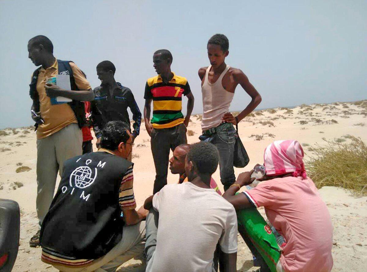 Nueva modalidad: traficantes arrojan al mar a migrantes